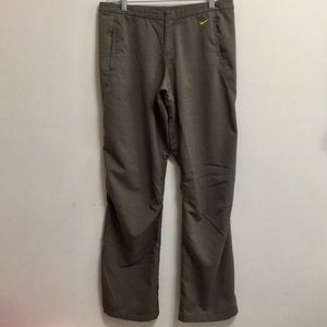 Nike FitDry Taupe Track/Athletic Pants (S/4-6)
